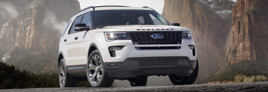 The 2018 Ford Explorer Sport