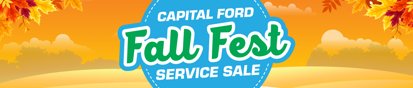 Fall Fest Service Sale at Capital Ford