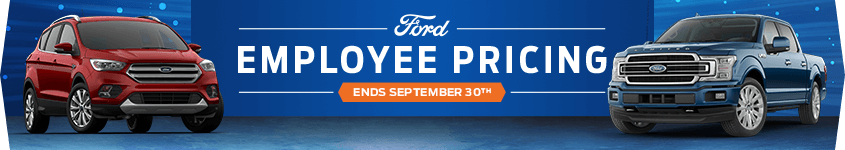 Ford Employee Pricing - Ends September 30th