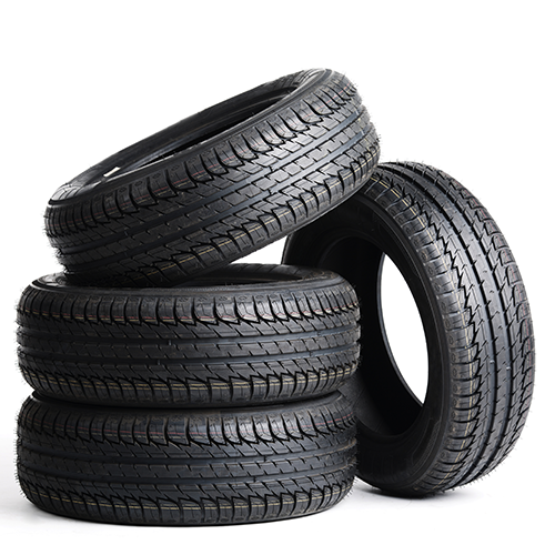 Tires at Capial Ford in Regina