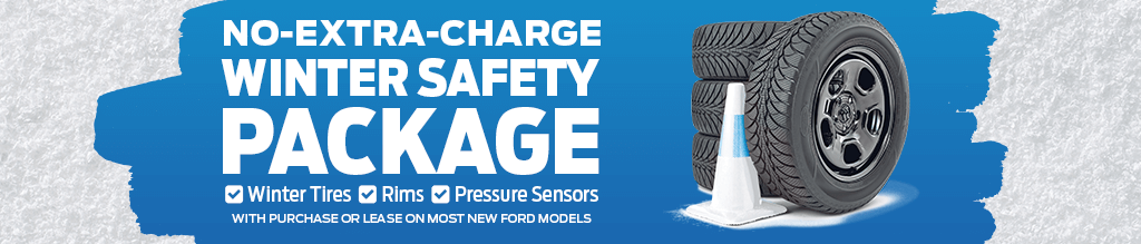 Ford's No-Extra-Charge Winter Safety Package