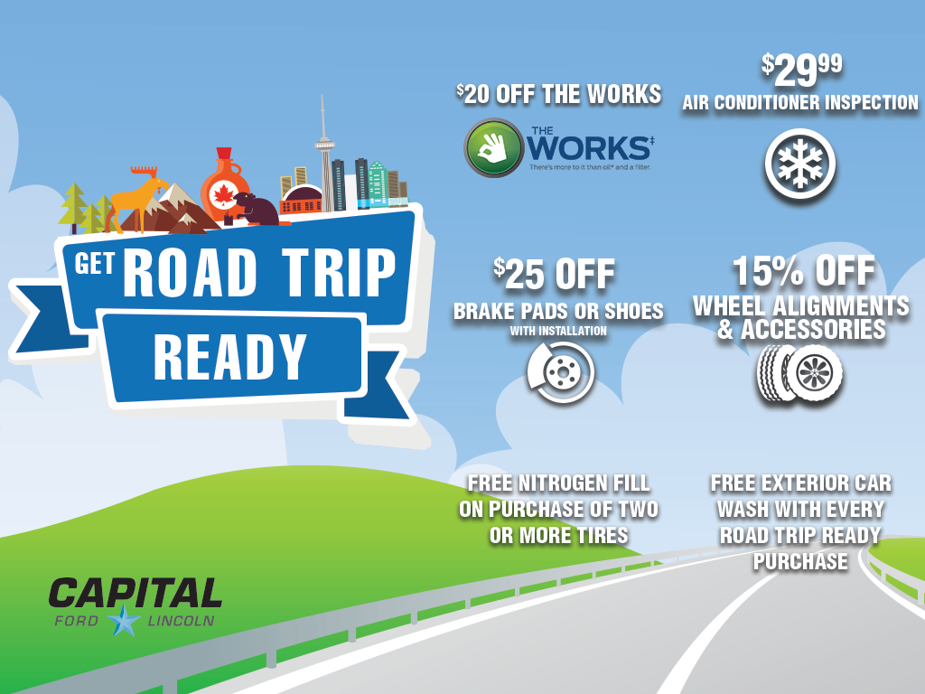 Get Road Trip Ready with Capital
