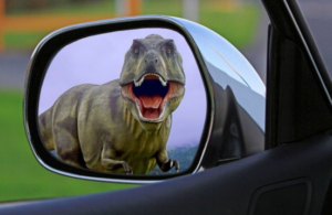 Check your mirrors! Danger could be waiting!