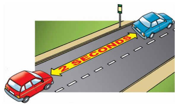 safe following and stopping distance