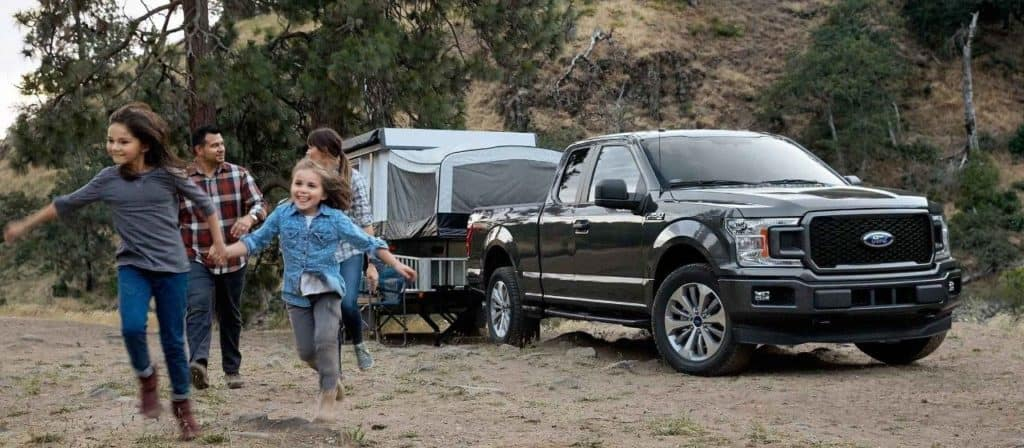 Ford F-150 Camping