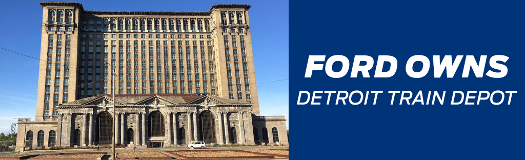 Ford Buys Detroit Train Station