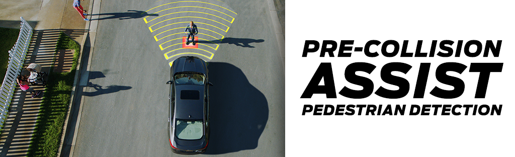 Pre-Collision Assist with Pedestrian Detection in Ford Models