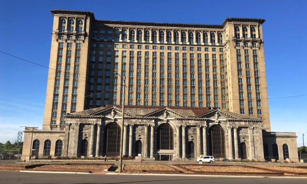 The last train pulled out of the Michigan Central Station in 1988, shortly before the Honda Accord became the best-selling car in America, a humbling milestone for the city and its top industry. Photo credit: Tom Worobec
