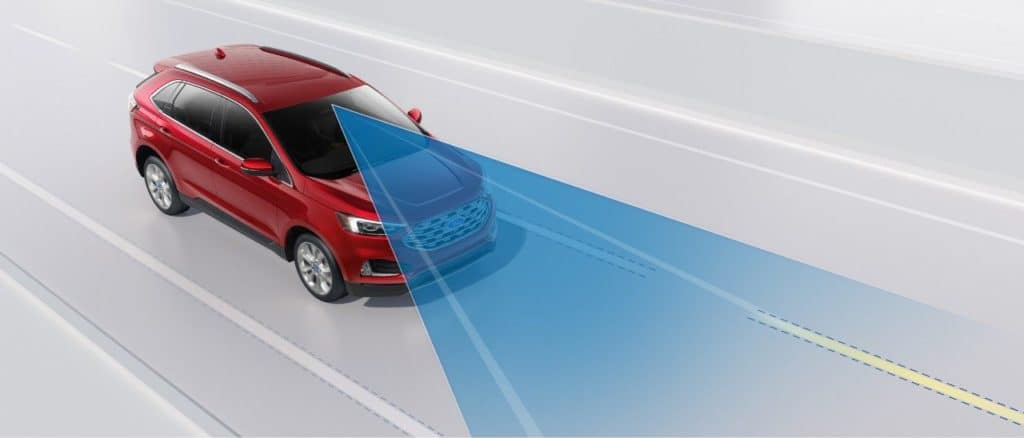 2019 Ford Edge Lane Centering