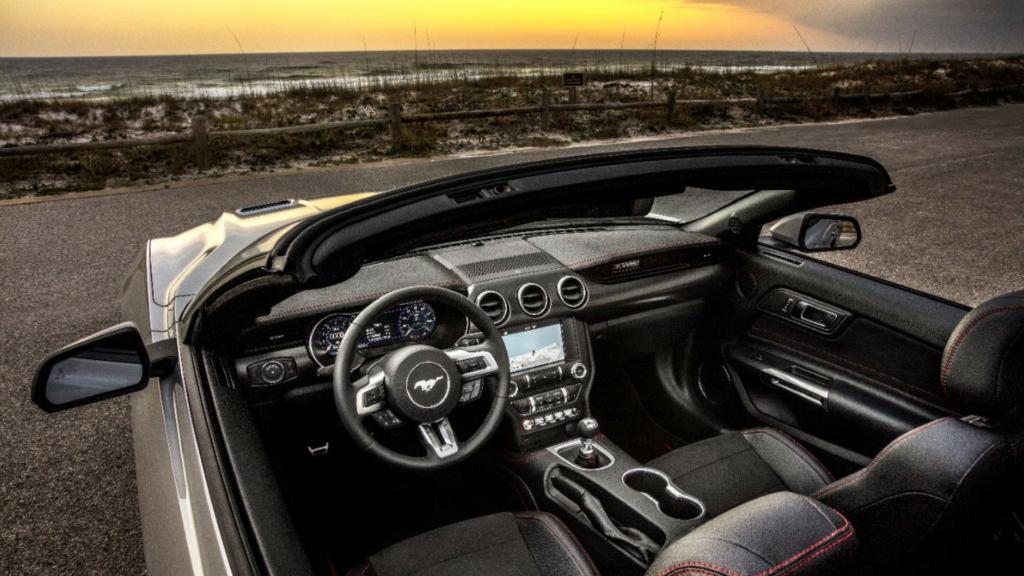 Interior of California Special Mustang 2019
