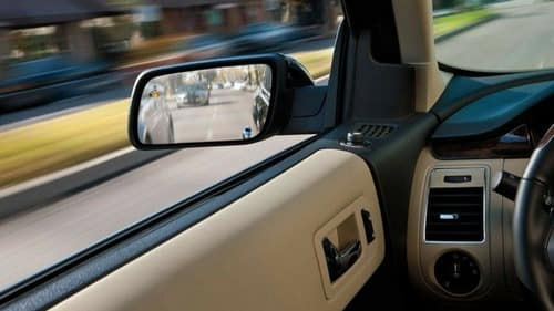 BLIS detects when a vehicle is in your blind spot