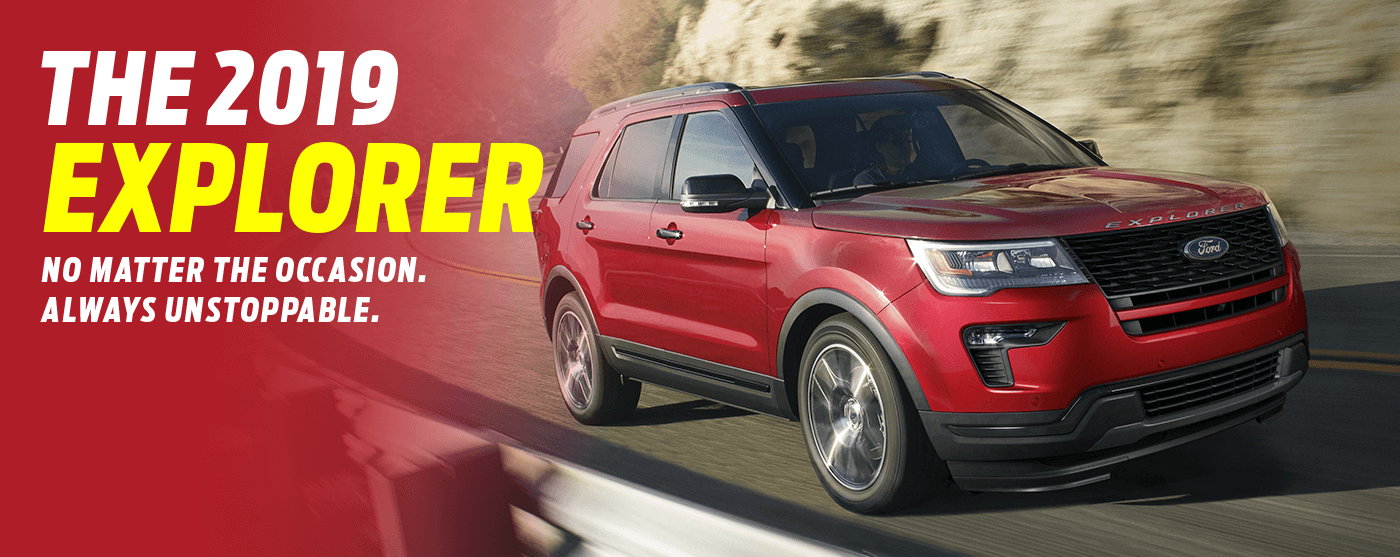 Find the new 2019 Ford Explorer in Regina at Capital Ford