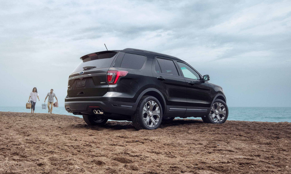 Sport Appearance Package on the 2019 Explorer
