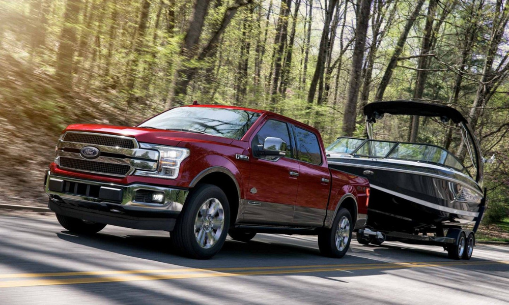 Engine power of 2019 F-150