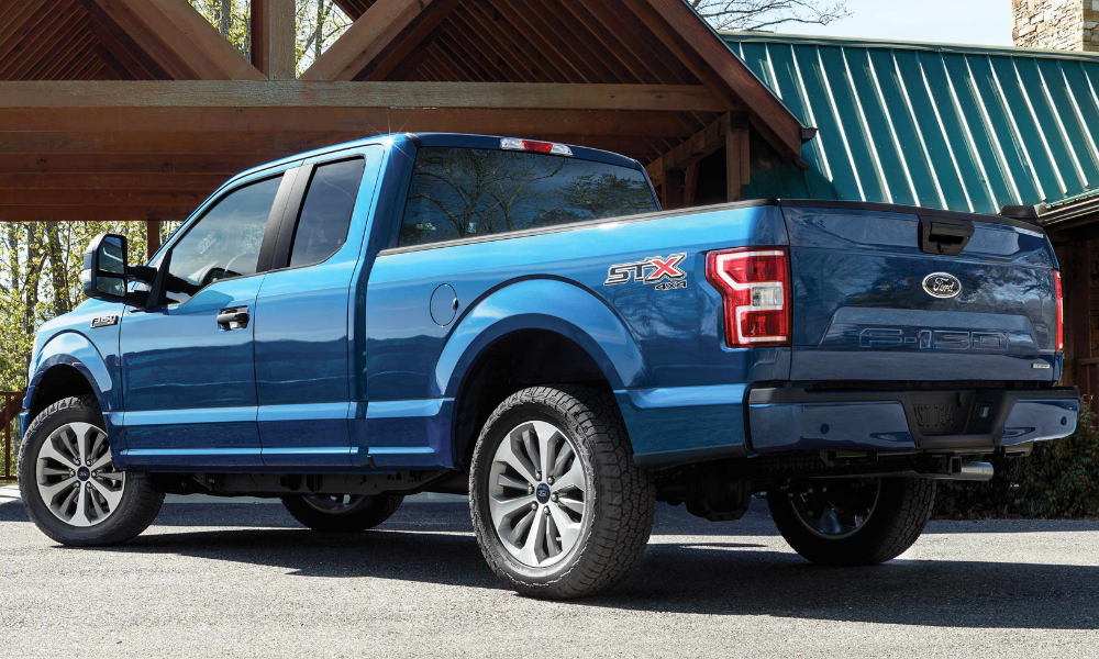 Custom Look: 2019 F-150 STX Appearance Package