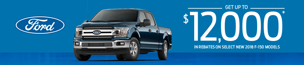 Get Up To $12,000 In Rebates On New 2018 Models