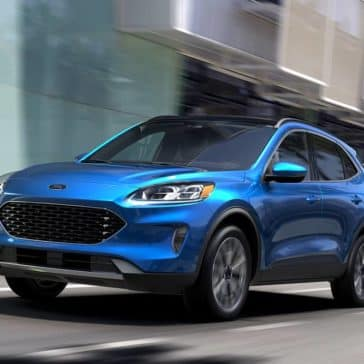 2020 Ford Escape Driving