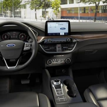 2020 Ford Escape Dash