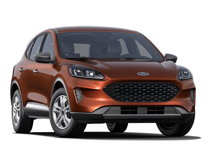 2020 Ford Escape Orange