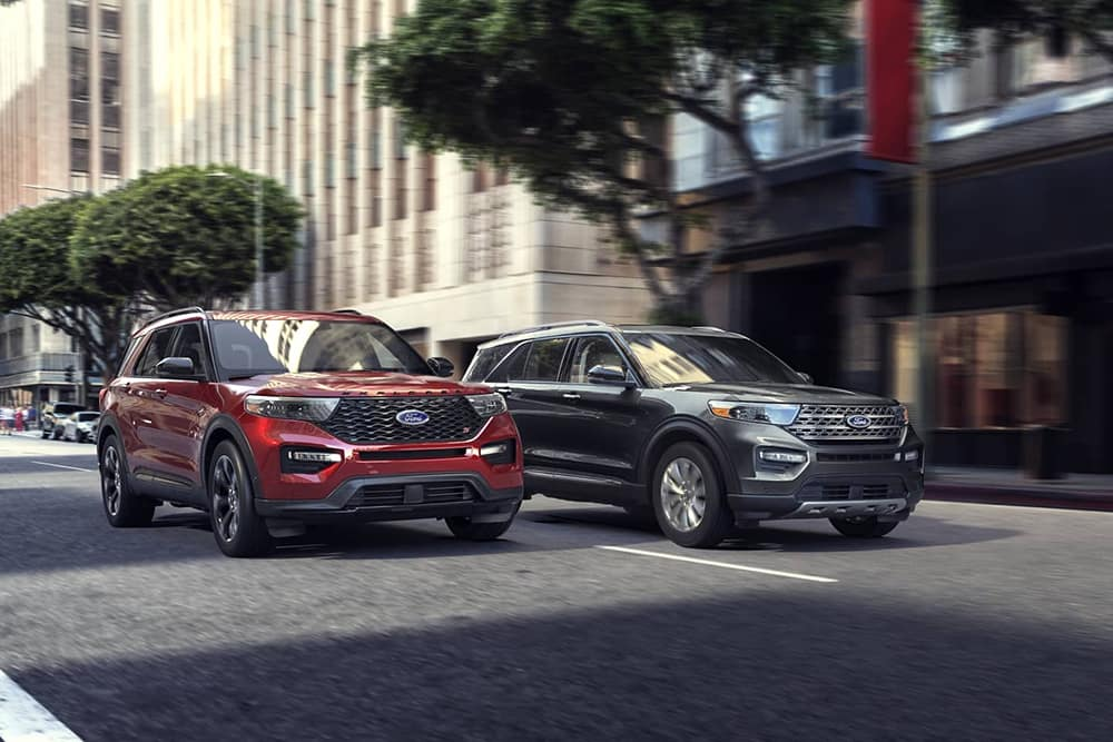 2020 Ford Explorer Pair