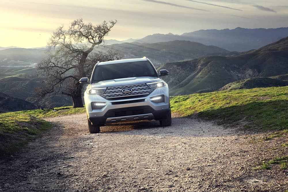 2020 Ford Explorer Grill