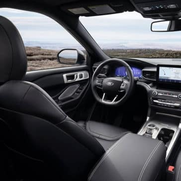 2020 Ford Explorer Dash