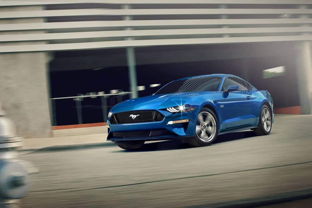 2020 Ford Mustang Driving