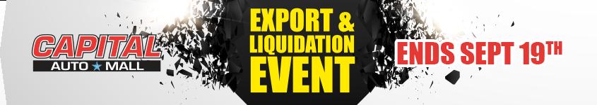 EXPORT & LIQUIDATION EVENT