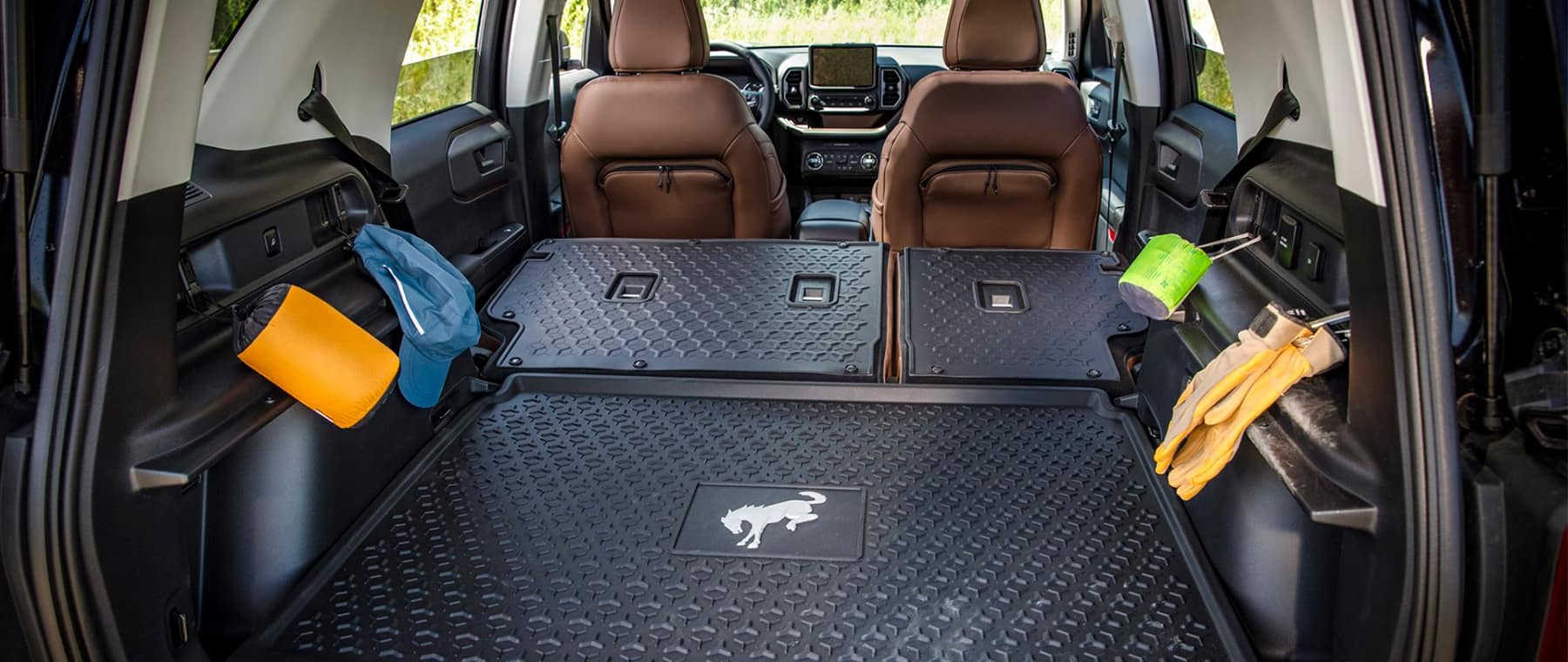 2021 Bronco trunk storage