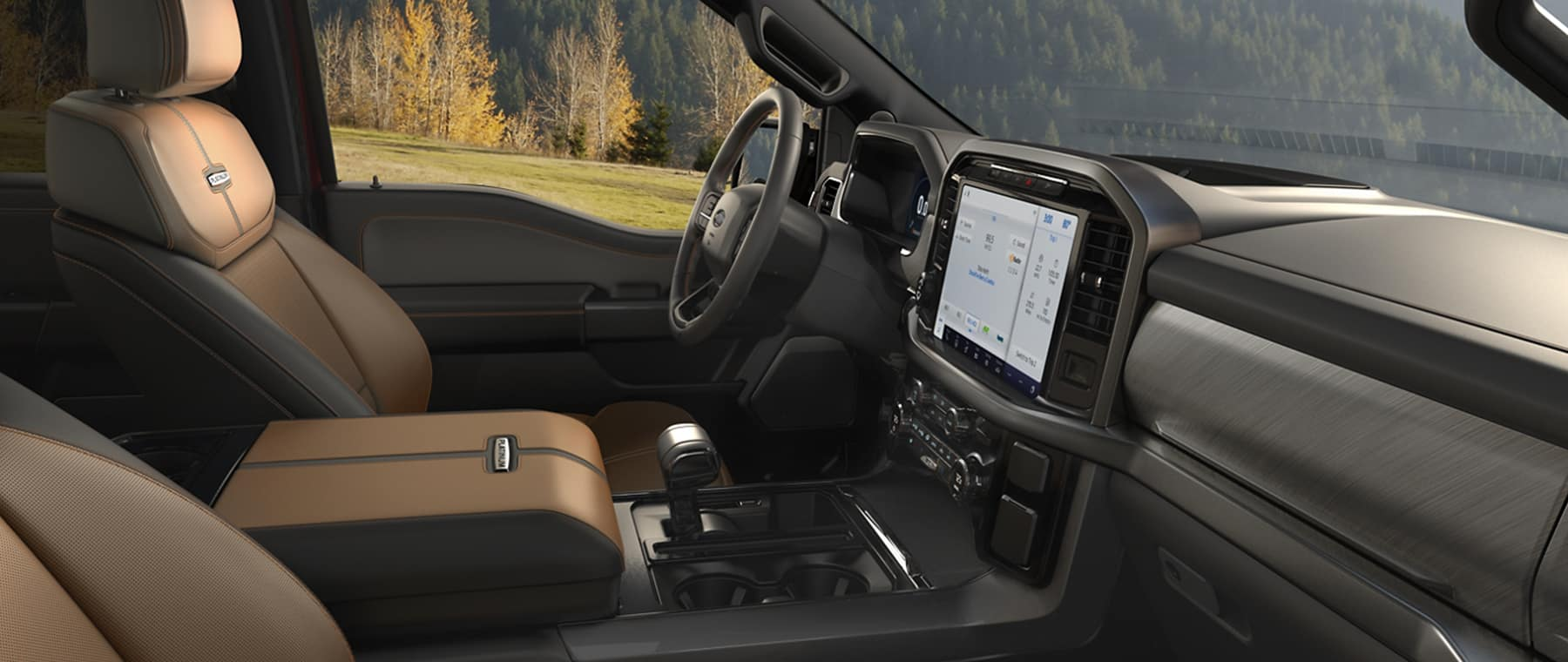 2021 Ford F150 front seat