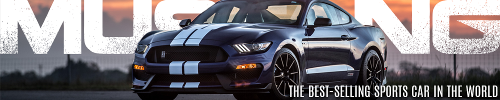 Ford Mustang is the best-selling sports car in the world.