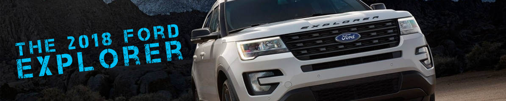 The 2018 Ford Explorer