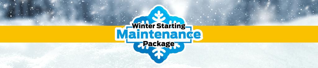 Winter Starting Maintenance Package