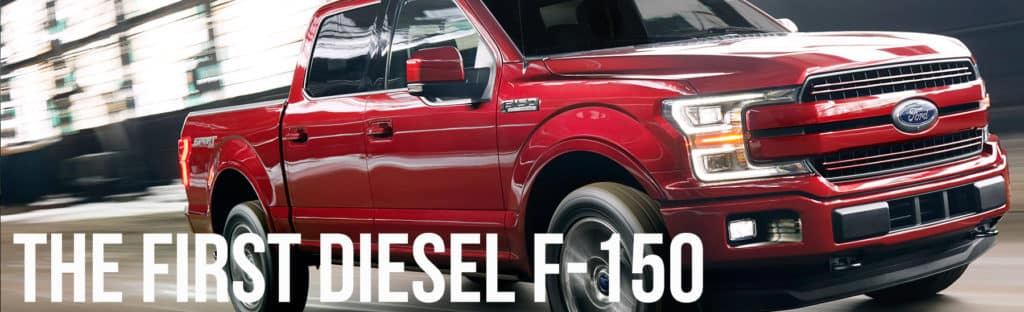The first diesel F-150