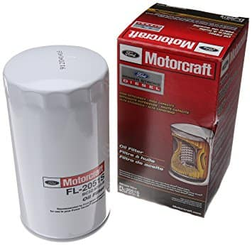Ford Motorcraft diesel oil filter at Capital Ford in Winnipeg