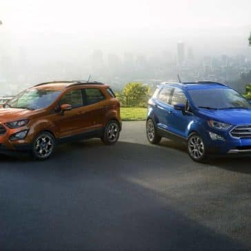 2018 Ford EcoSport Canada Choices