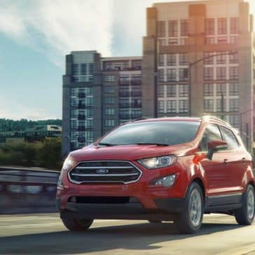 2018 Ford EcoSport Canada SE in Ruby Red