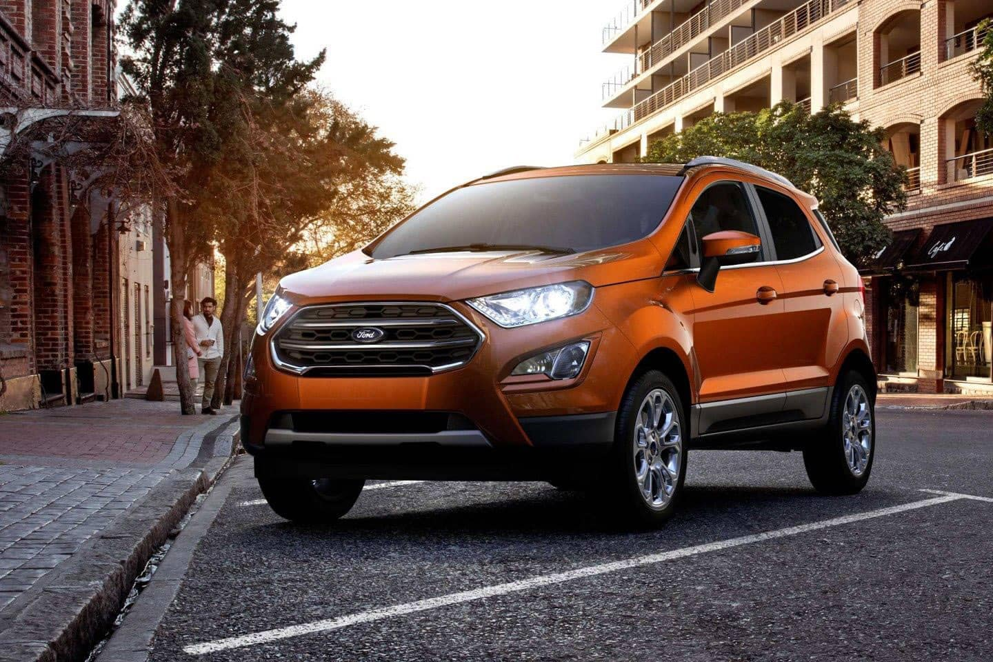 2018 Ford EcoSport Canada in Canyon Ridge