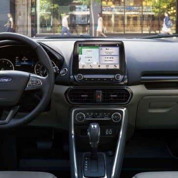 2018 Ford EcoSport Canada instrument panel