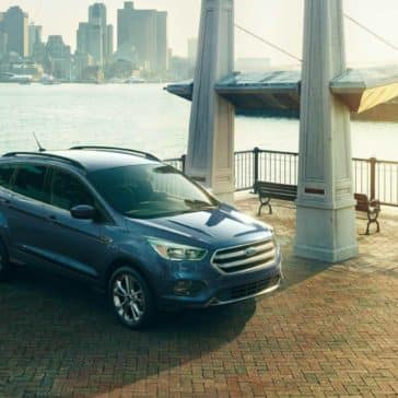 2018 Ford Escape Canada SE in Blue Metallic