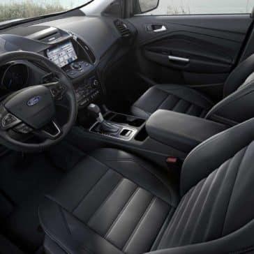 2018 Ford Escape Canada front interior