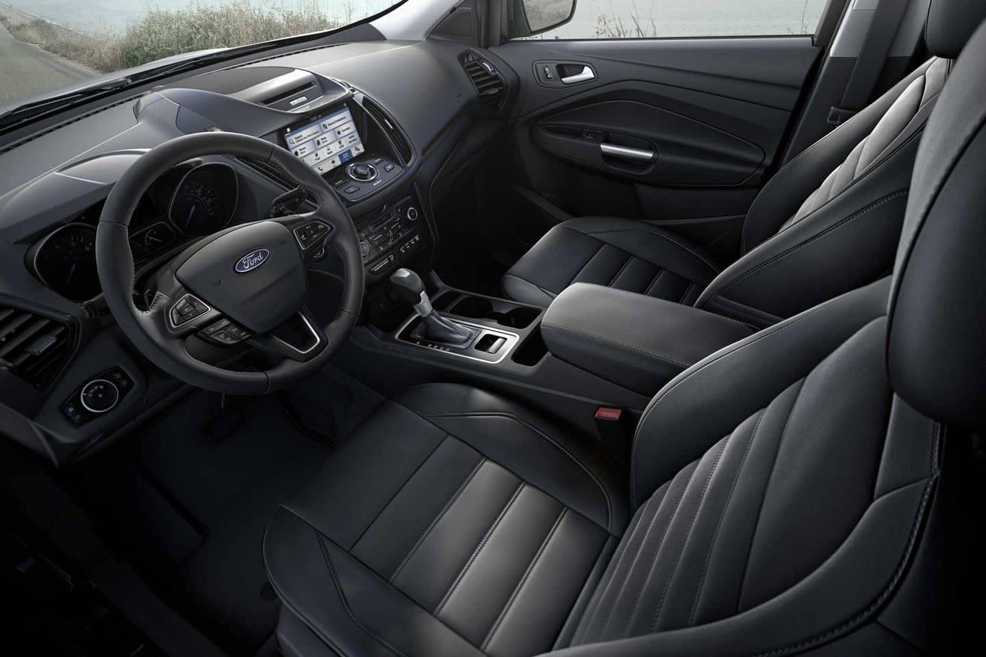 2018 Ford Escape Canada front interior