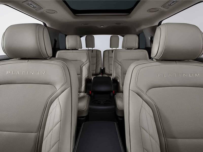 2018 Ford Explorer Canada three rows of seating