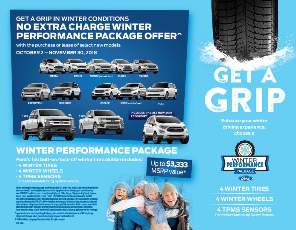 Winter Performance Package