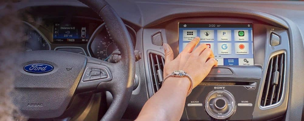Ford SYNC® interface