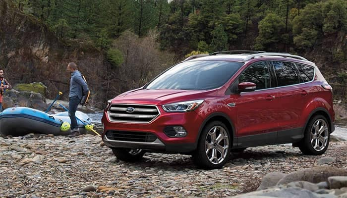 2019 Ford Escape Parked at River