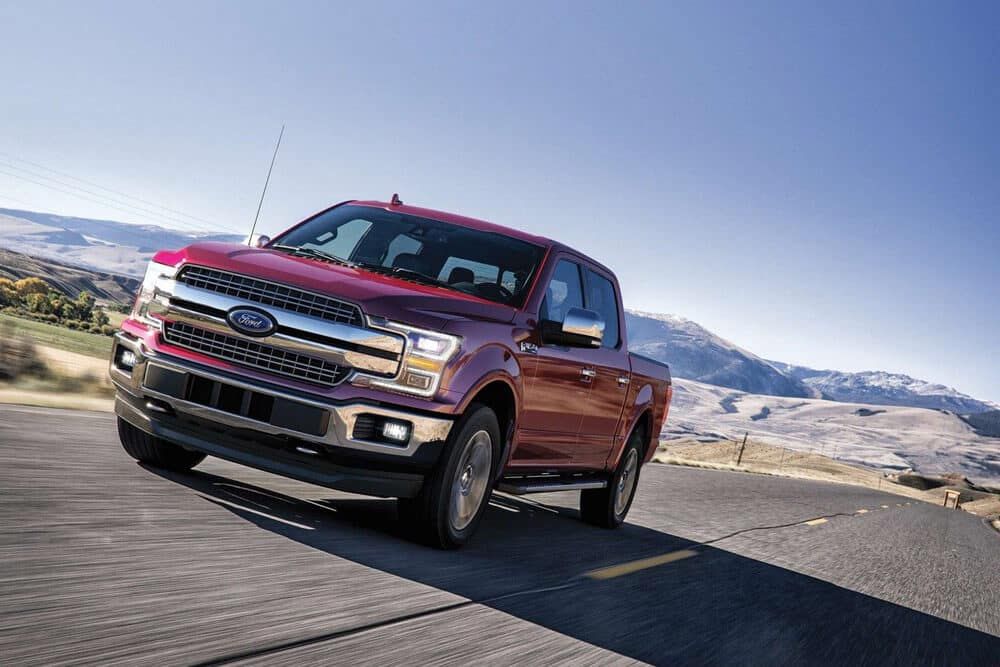 2019 Ford F-150 Driving