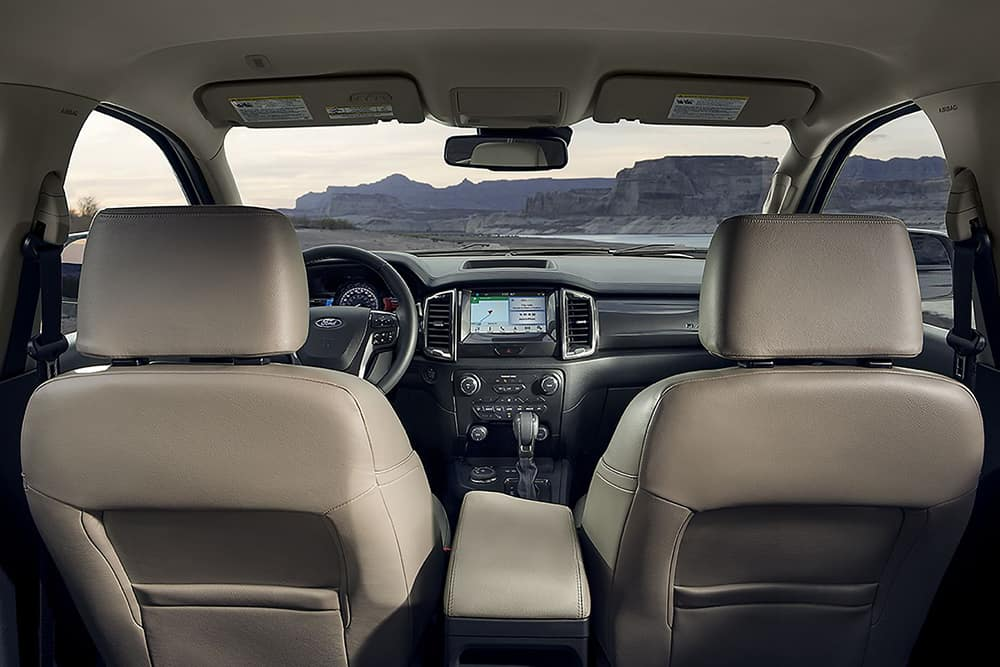 2019 Ford Ranger Interior Space