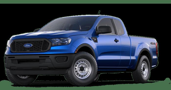 2019 Ford Ranger Blue