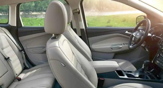 2019 Ford Escape Interior Front and Rear Seating
